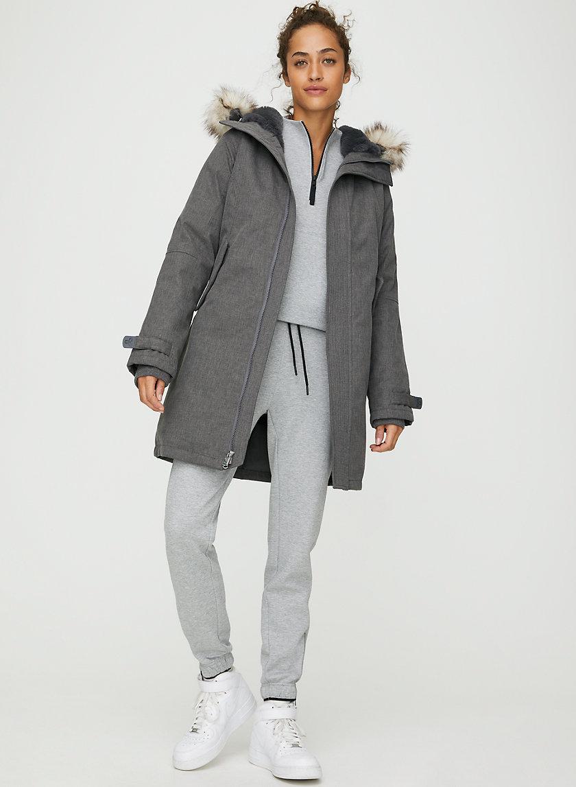 SUMMIT PARKA - Slim-fit, goose-down parka jacket