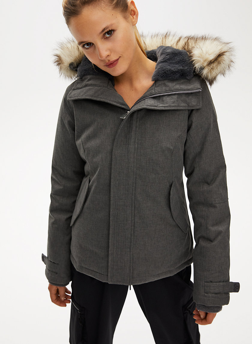 SUMMIT SHORT PARKA - Hip-length goose-down parka