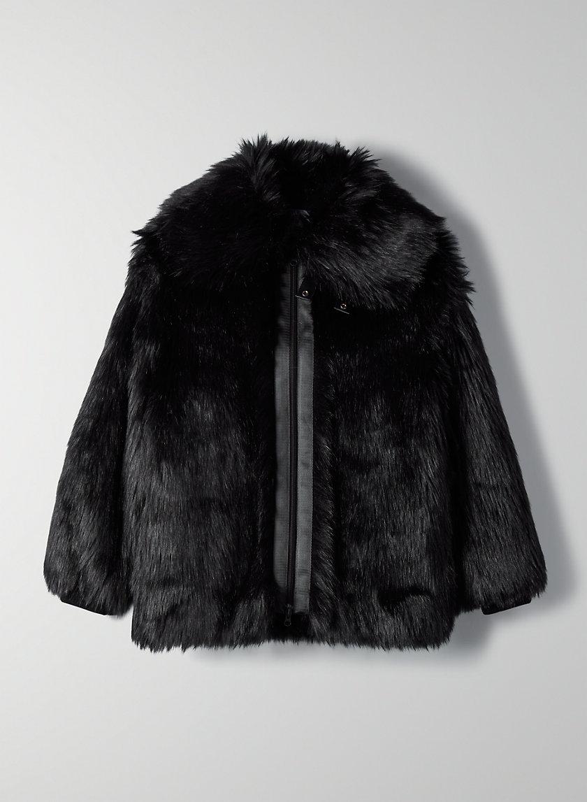 TRIBECA FAUX FUR COAT - Faux fur jacket
