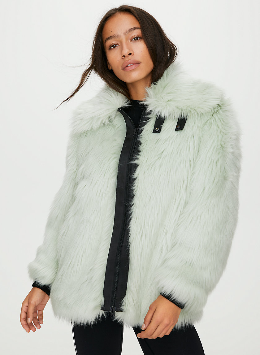 TRIBECA FAUX FUR COAT - Faux fur jacket