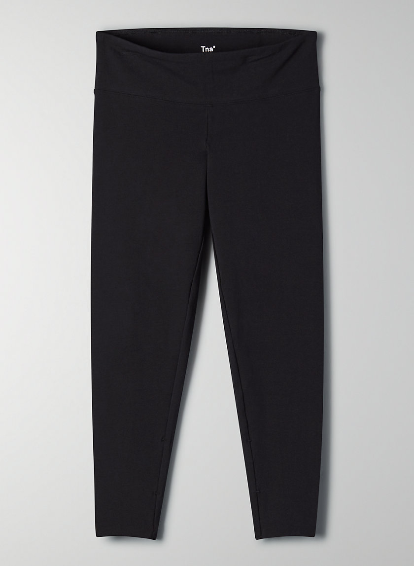 EQUATOR LEGGING CROP - Mid-rise workout legging