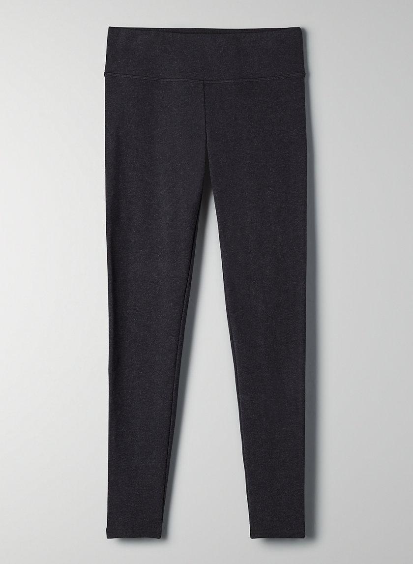 EQUATOR LEGGING - Mid-rise, brushed fleece leggings
