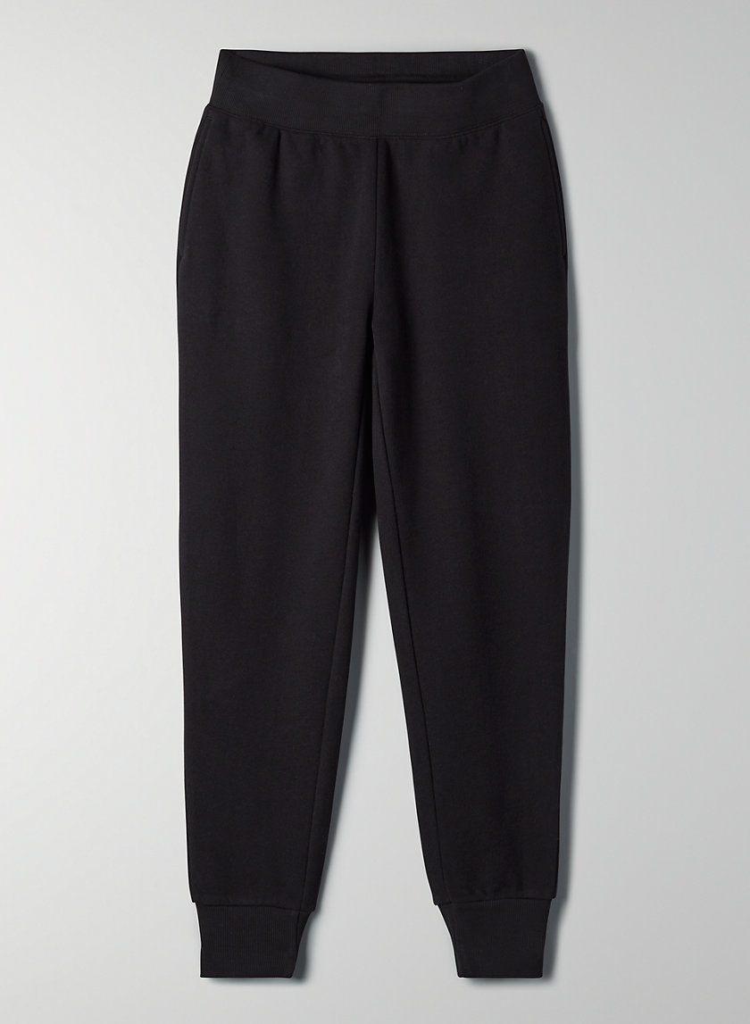 THE PERFECT JOGGER - Fleece, slim-fit joggers