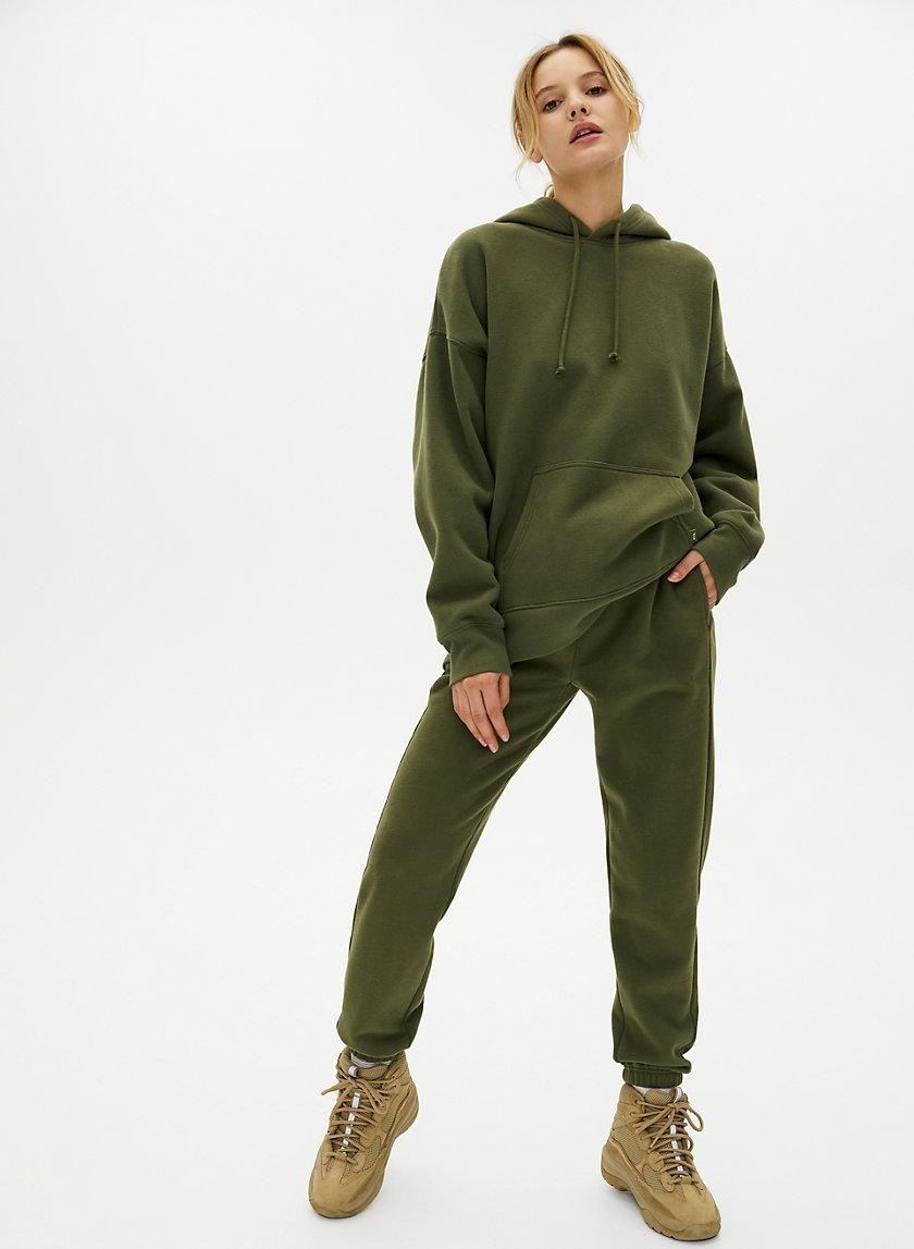 BOYFRIEND SWEATPANT - Slim-fit fleece sweatpants