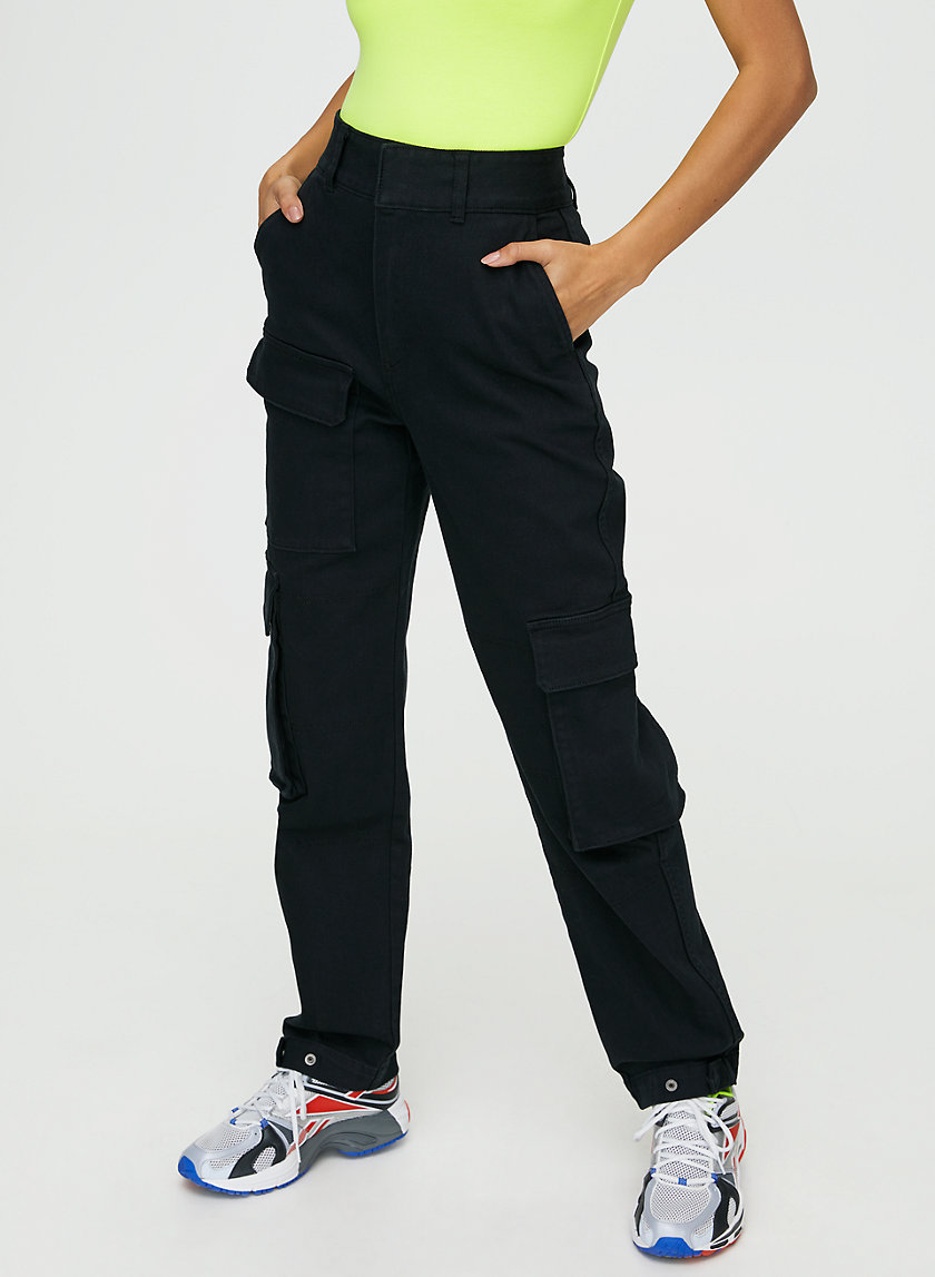 WORKWEAR PANT - High-waisted cargo pants