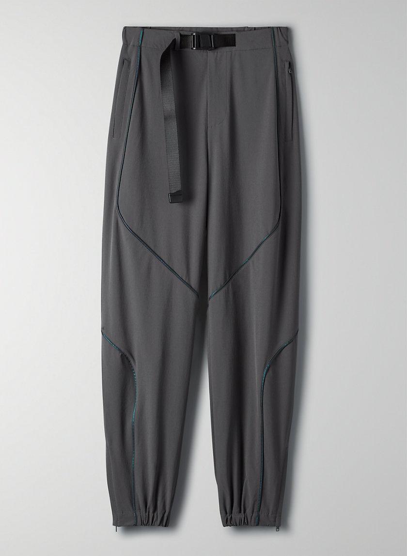 OCEANSIDE PANT - Paneled reflective track pants