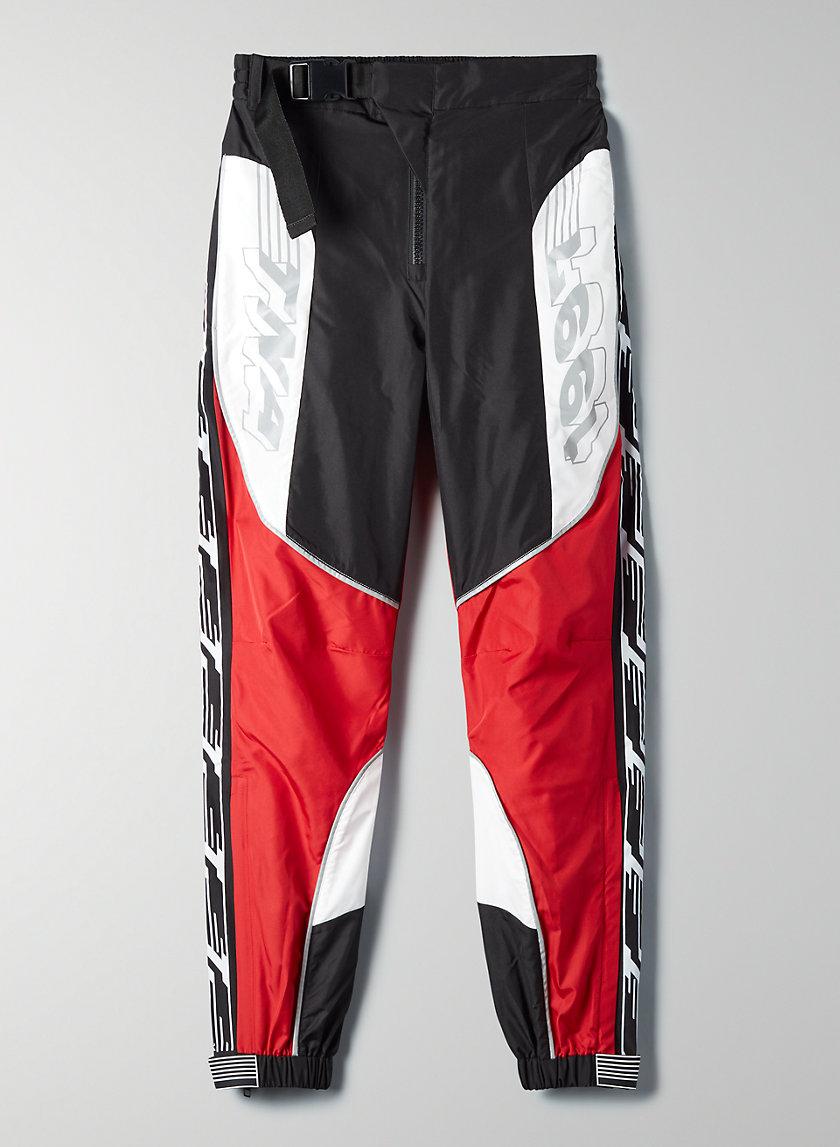 MISSION PANT - Colour-blocked moto pant
