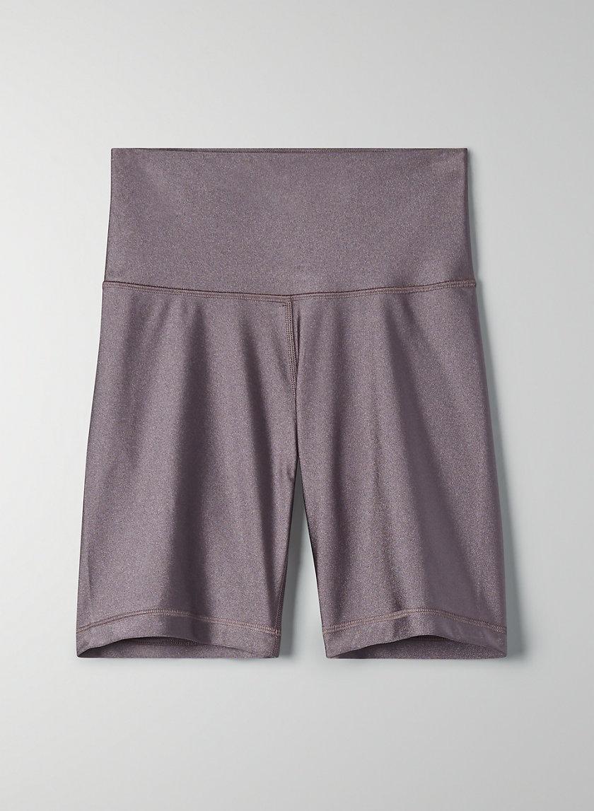 """ATMOSPHERE SHORT 7"""" - Shiny biker shorts"""