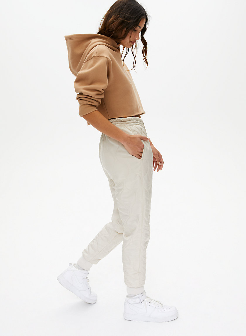 MONTAUK PANT - Quilted joggers