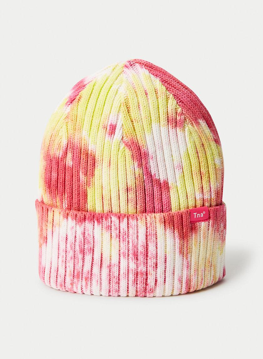 ANDIE PEAK BEANIE - Ribbed knit beanie