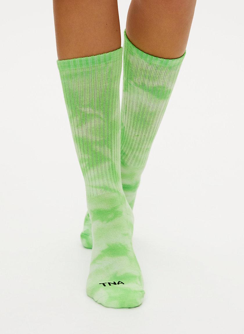 CALF SOCK 2 PACK - Tie-dye crew sock