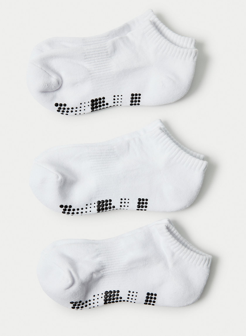 FAIRVIEW SOCKS 3 PACK - No-show high stretch socks