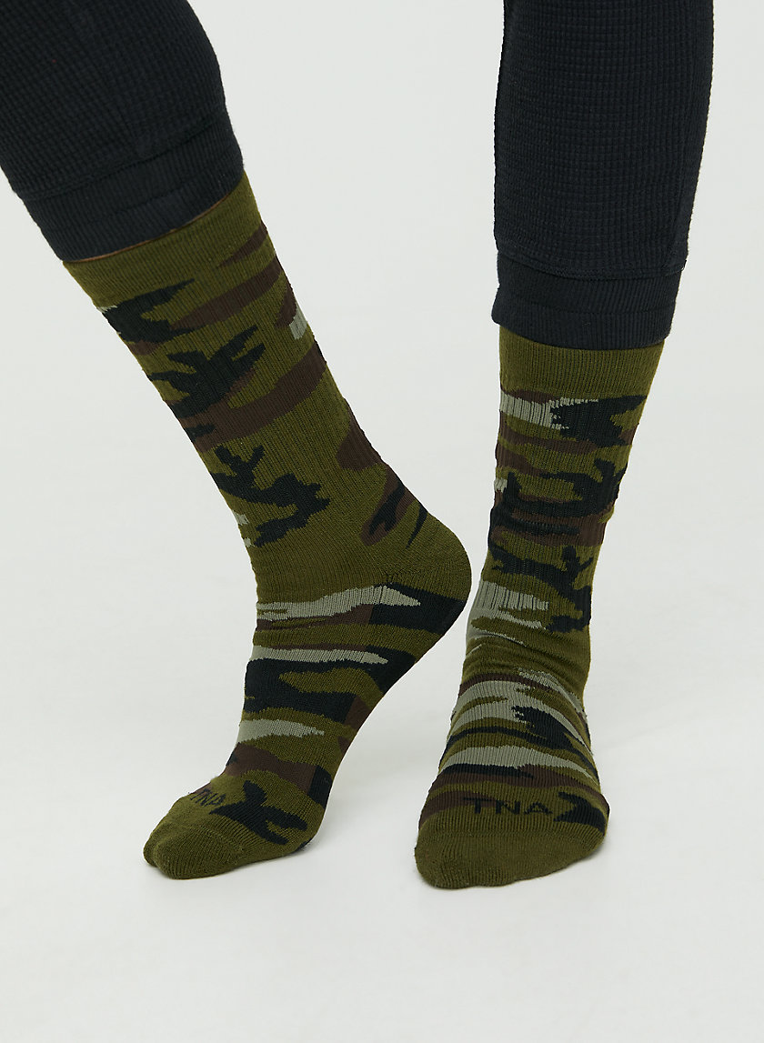ROSEDALE CREW SOCK - Camo crew socks