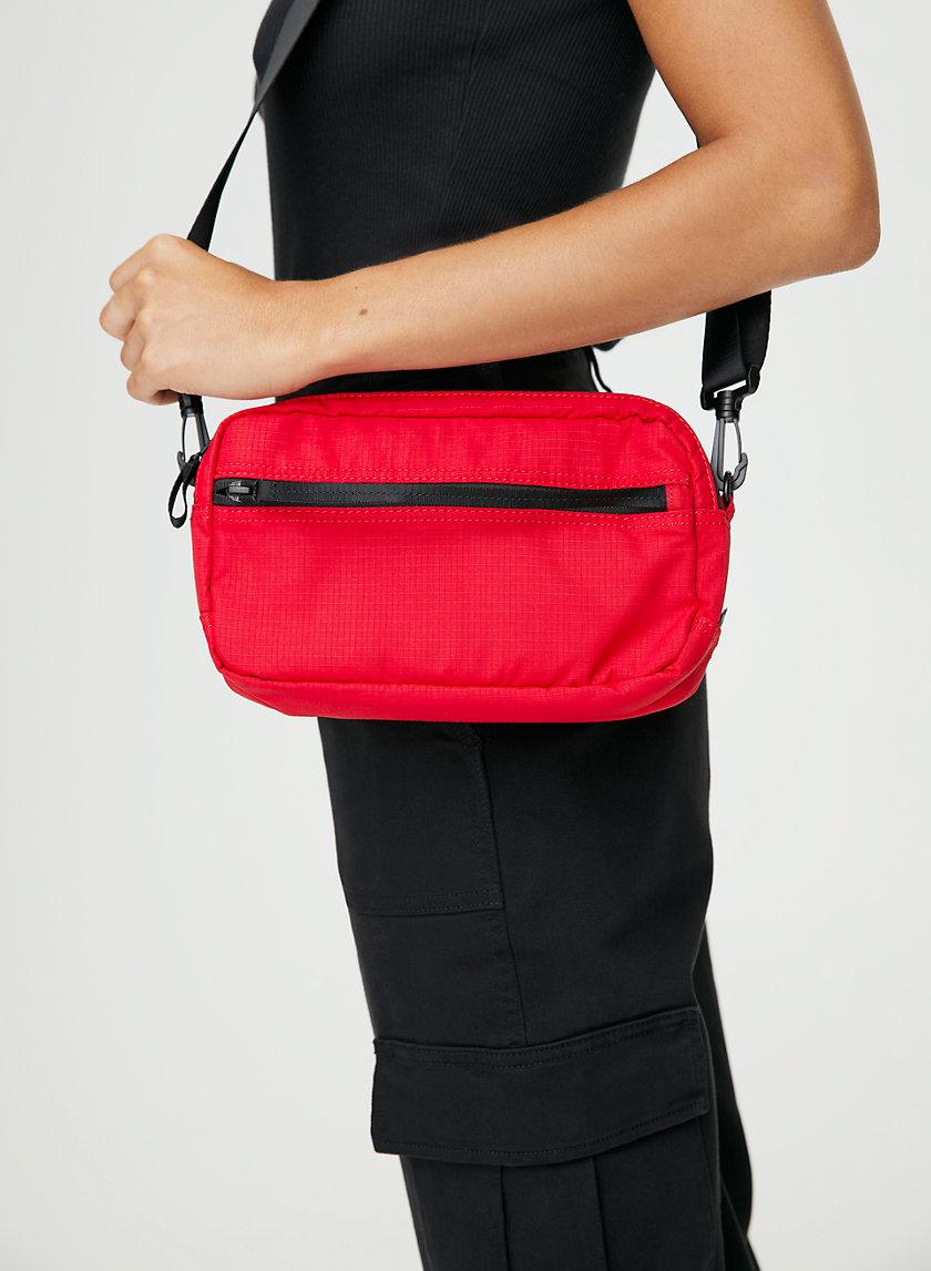 BELLEVILLE CROSSBODY - Front zip cross-body bag