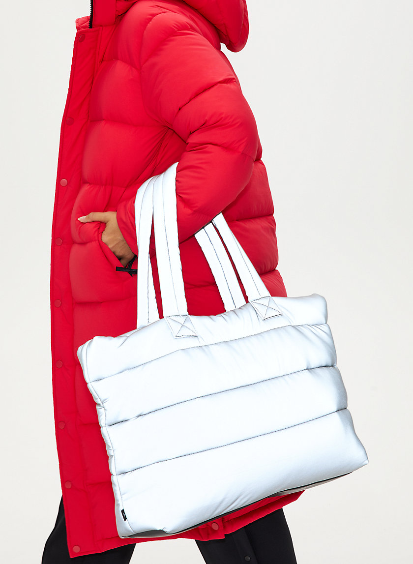 THE SUPER PUFF™ TOTE - Quilted tote bag