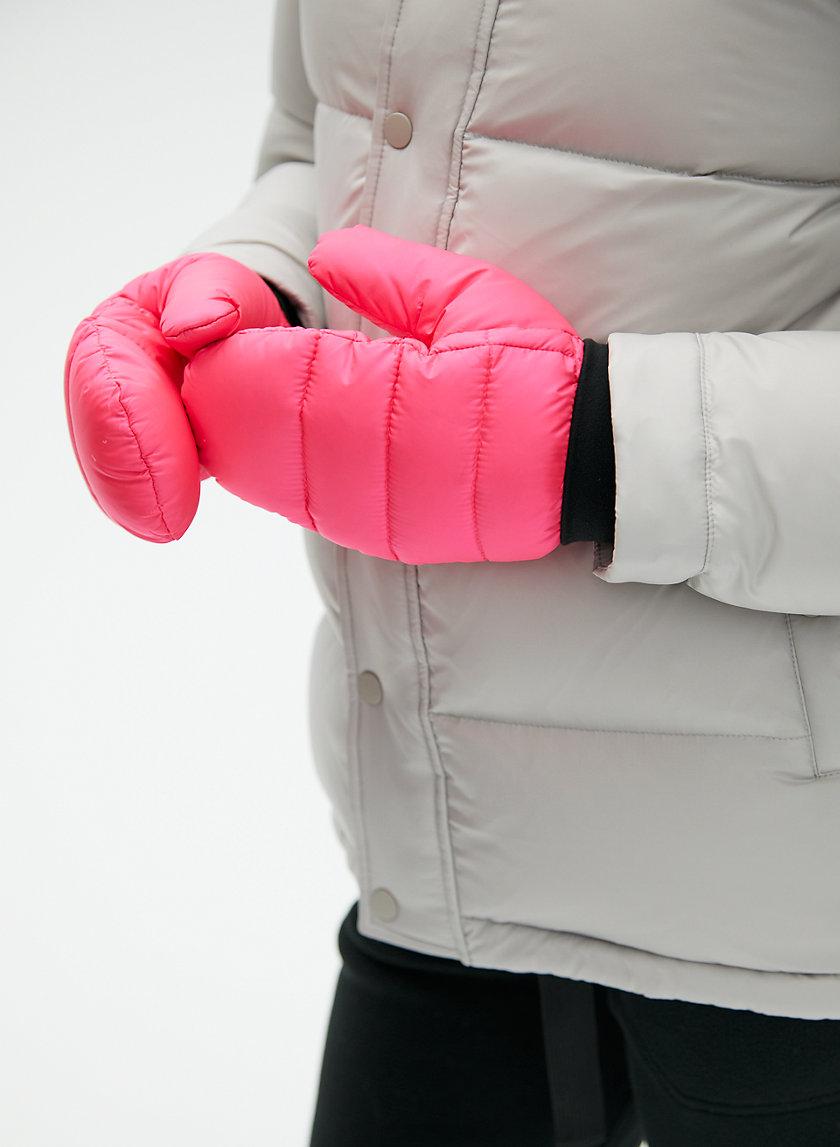 THE SUPER PUFF™ MITTEN - Water-repellent, neon puffer mittens