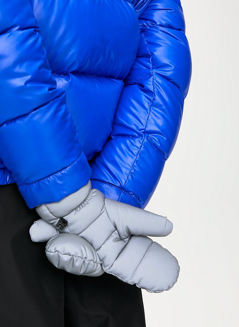 THE SUPER PUFF™ MITTEN - Water-repellent, reflective puffer mittens