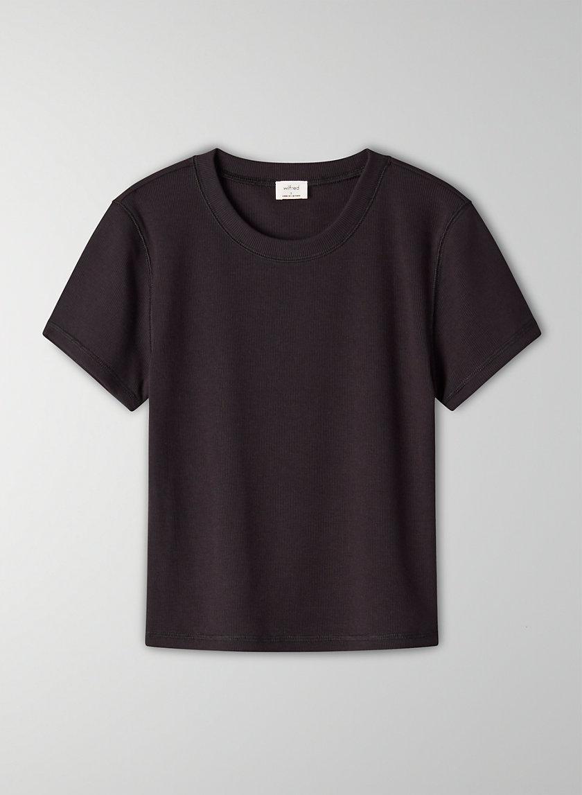 GO-TO T-SHIRT - Ribbed, crewneck t-shirt