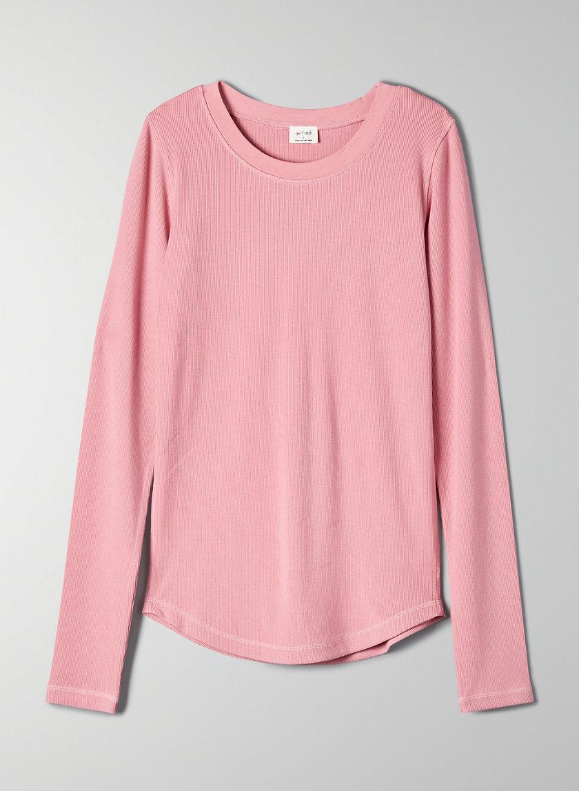 GO-TO LONGSLEEVE - Long-sleeve, ribbed t-shirt