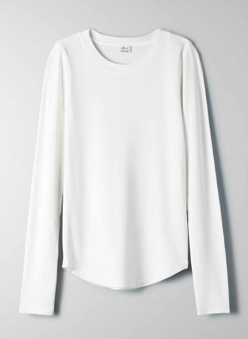 GO-TO LONGSLEEVE - Long-sleeve, ribbed t-shirt