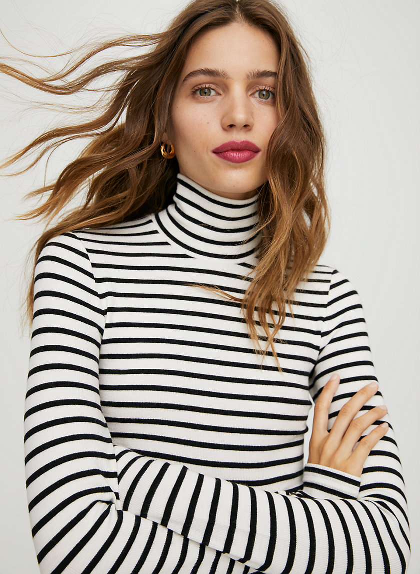 ONLY TURTLENECK - Ribbed turtleneck shirt