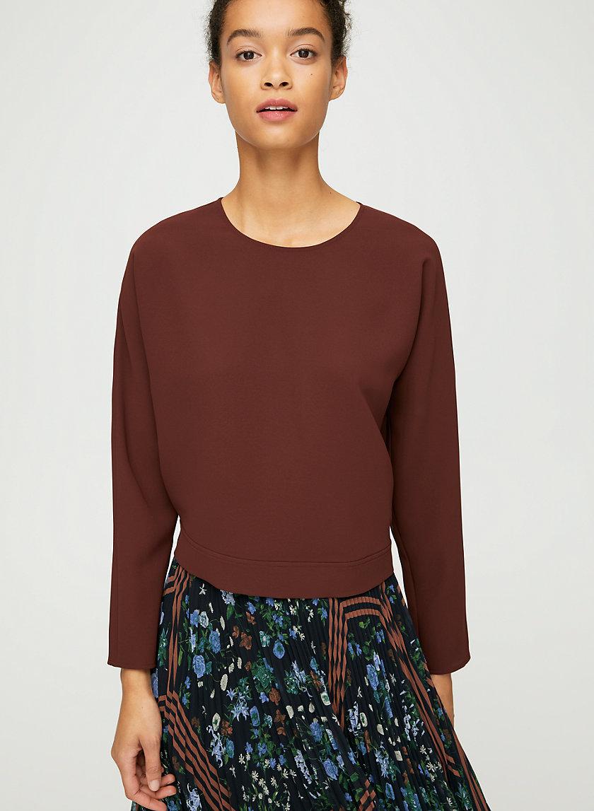 LAON BLOUSE - Tie-back blouse