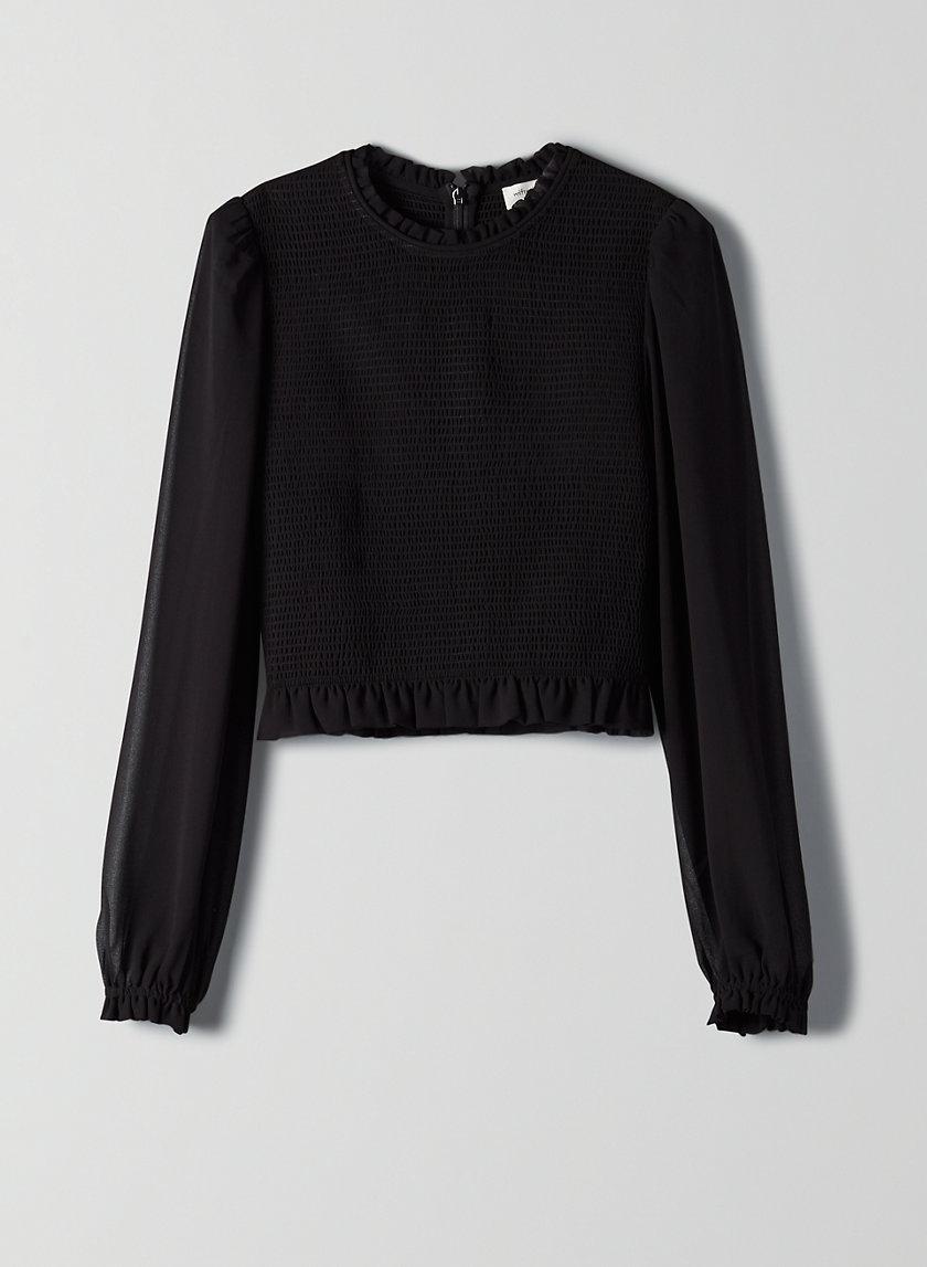 LILITH BLOUSE - Smocked prairie blouse