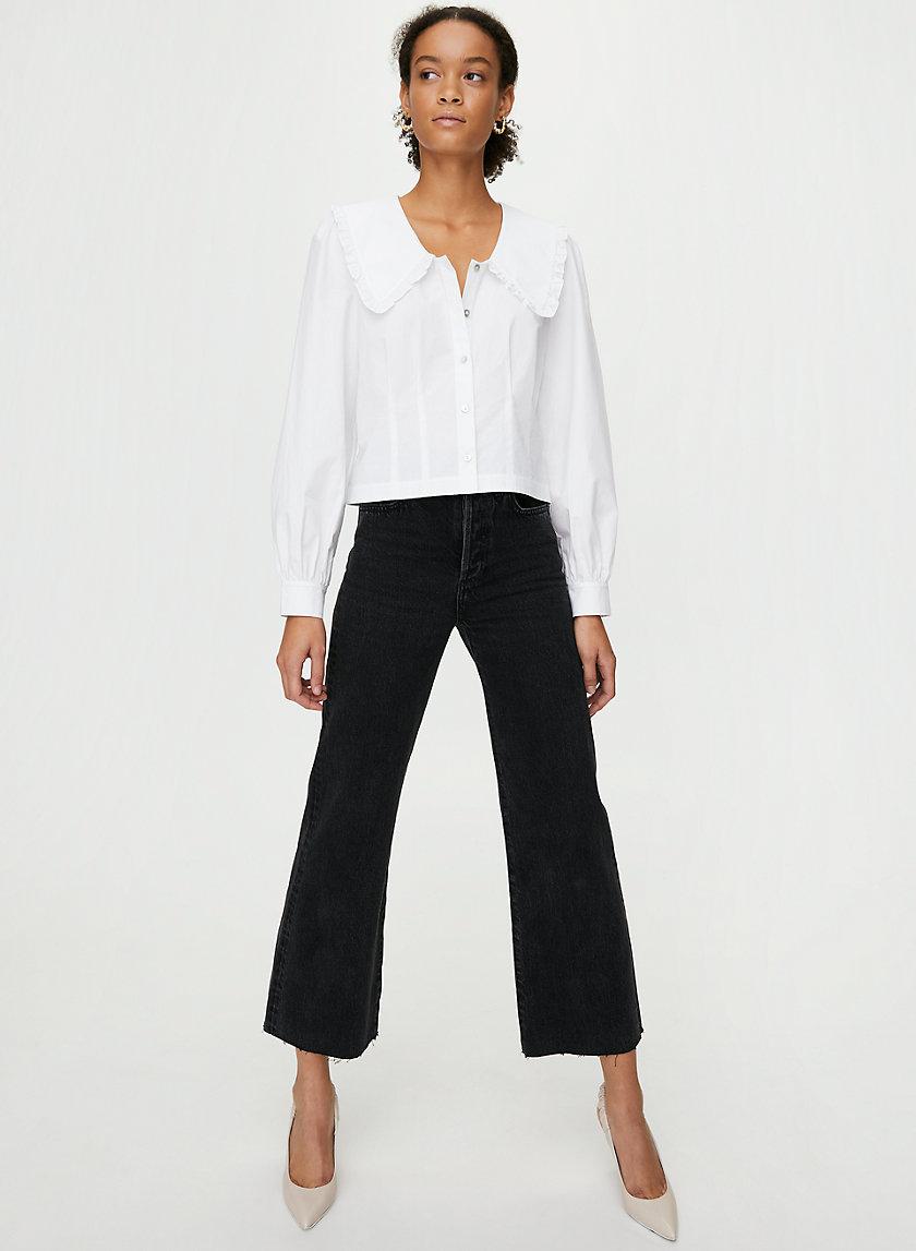 BLYTHE BLOUSE - Long-sleeve prairie blouse