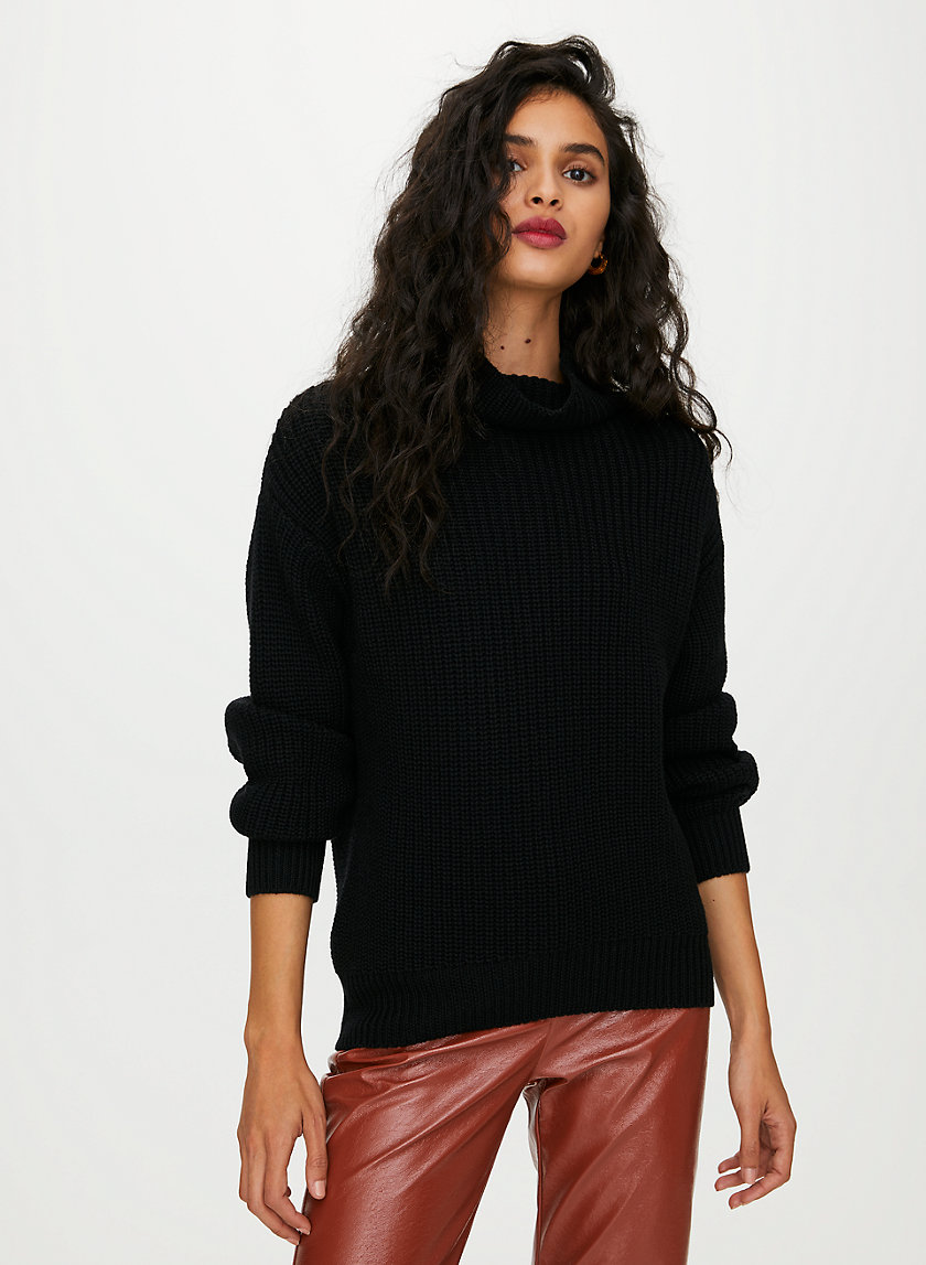 MONTPELLIER SWEATER - Merino-wool turtleneck sweater