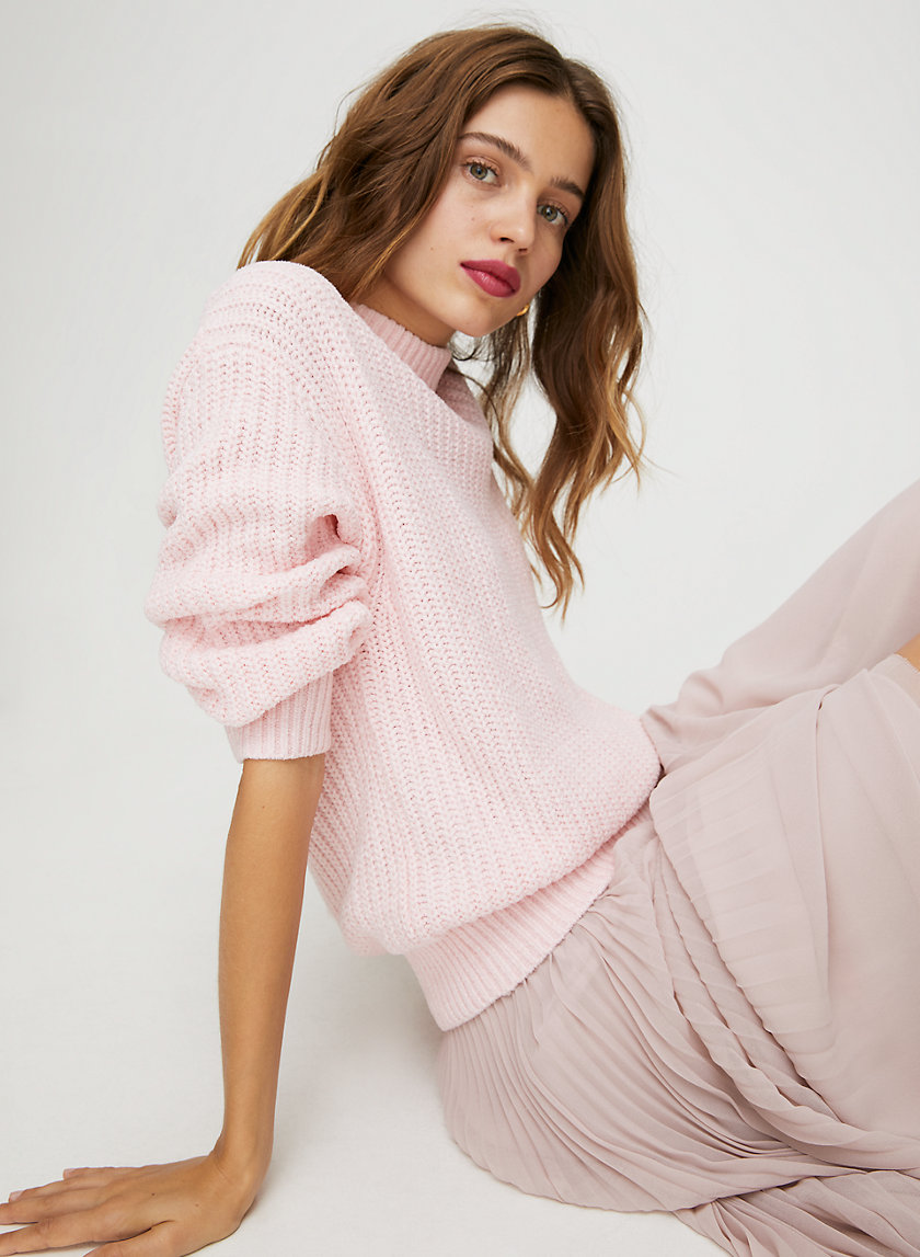 SALETTE SWEATER - Relaxed-fit crewneck sweater