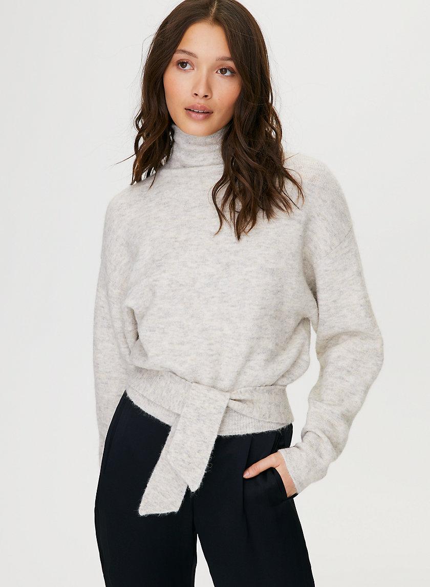LORIN SWEATER - Alpaca-blend turtleneck sweater