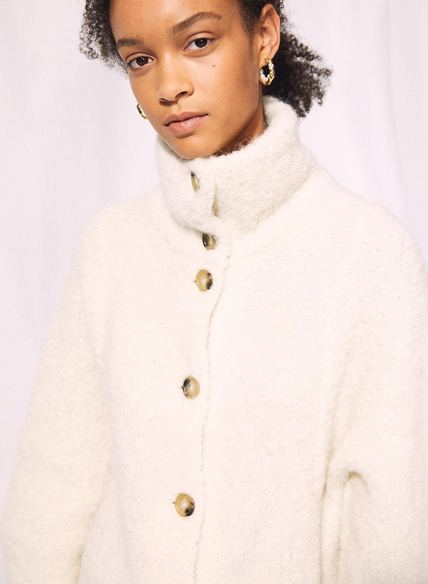 OVERSIZED ALPACA CARDIGAN - Oversized, alpaca-blend cardigan