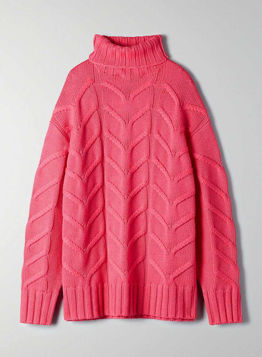 CHAMPEAUX SWEATER - Cable-knit, merino-wool sweater