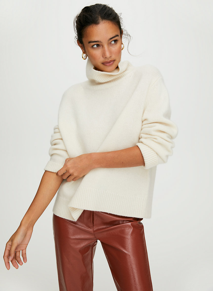 JARA CASHMERE SWEATER - Cashmere turtleneck sweater