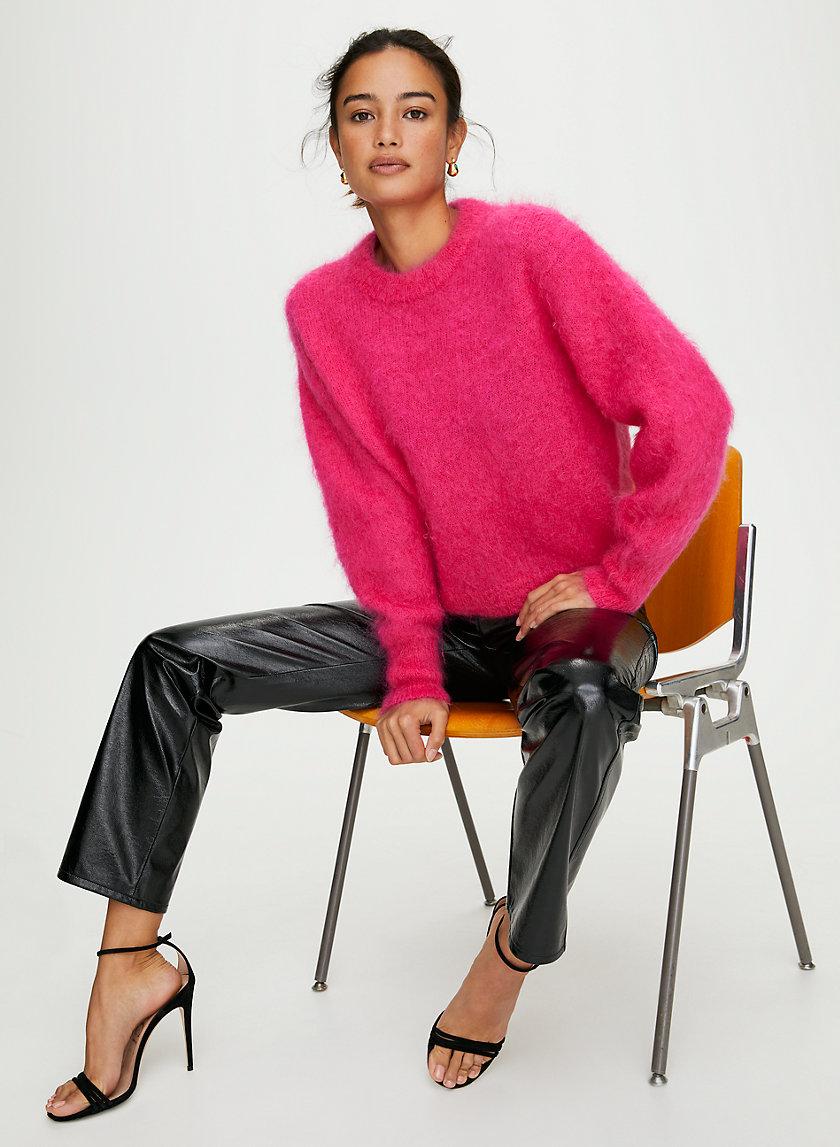 SERMENT SWEATER - Oversized crewneck sweater