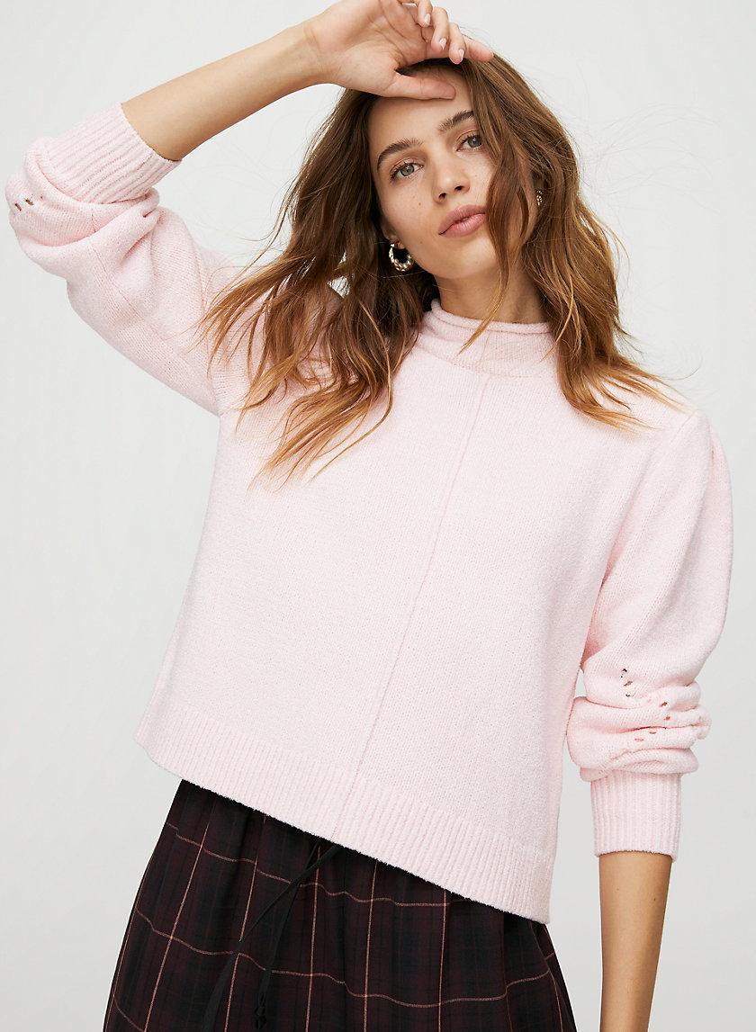 INGRID SWEATER - Mock-neck sweater