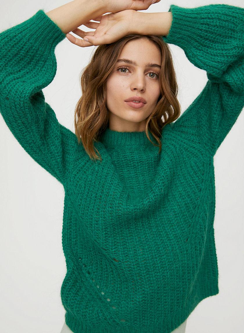 SABA SWEATER - Feminine pullover sweater
