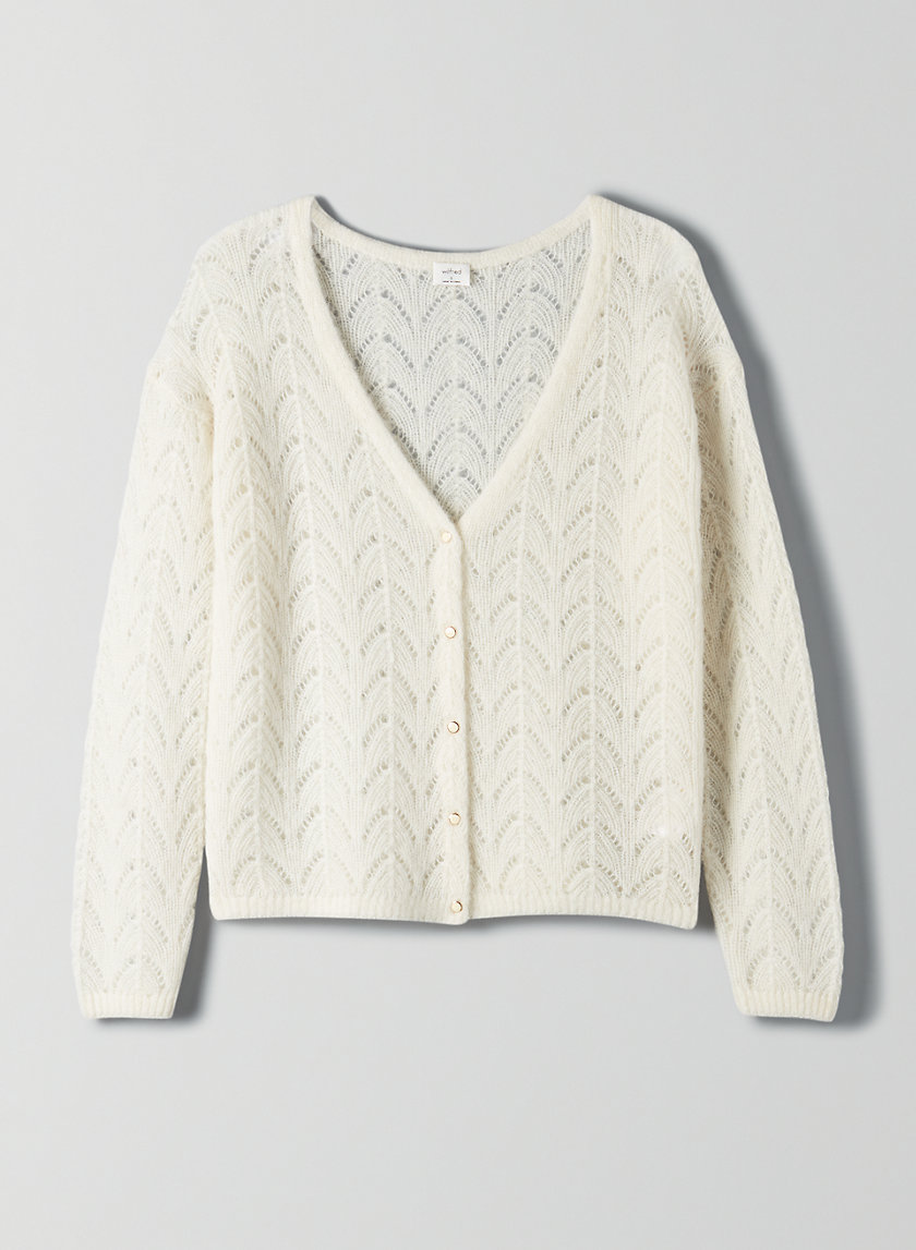 FRONT TO BACK CARDIGAN - Reversible classic cardigan