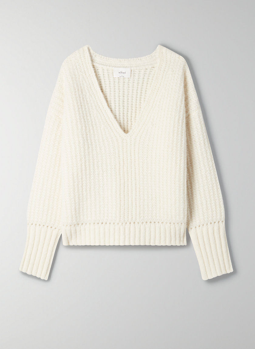 ERICA SWEATER - Alpaca V-neck sweater