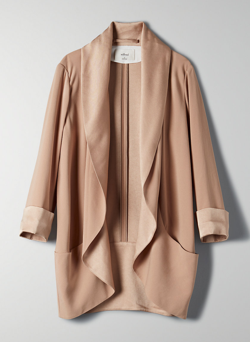 CHEVALIER JACKET - Oversized open blazer