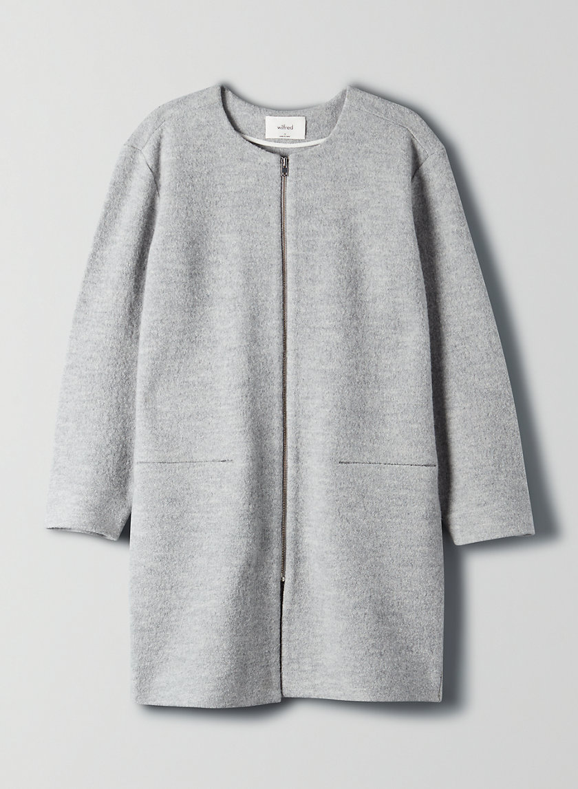 BANVILLE JACKET - Merino wool, zip-up cardigan jacket