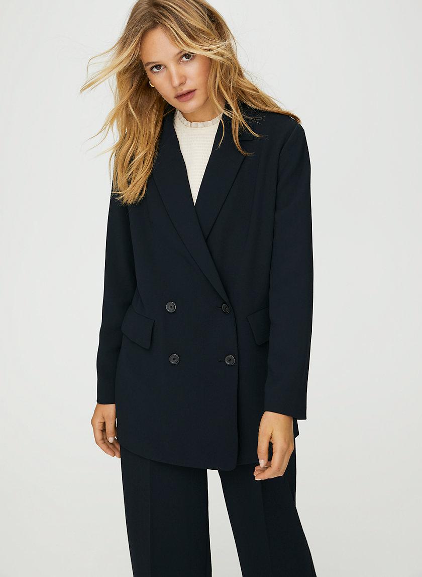 CHERRELLE JACKET - Oversized, double-breasted blazer
