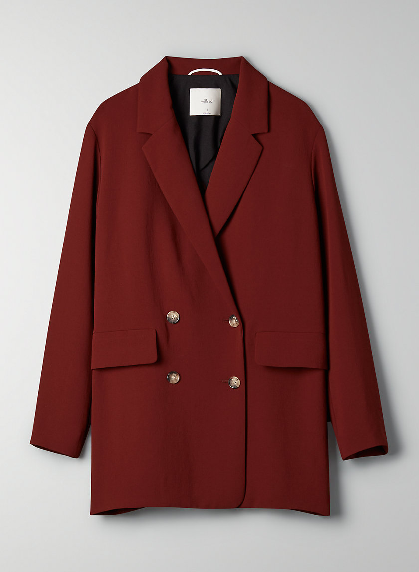 CHERRELLE JACKET - Oversized, double-breasted blazer