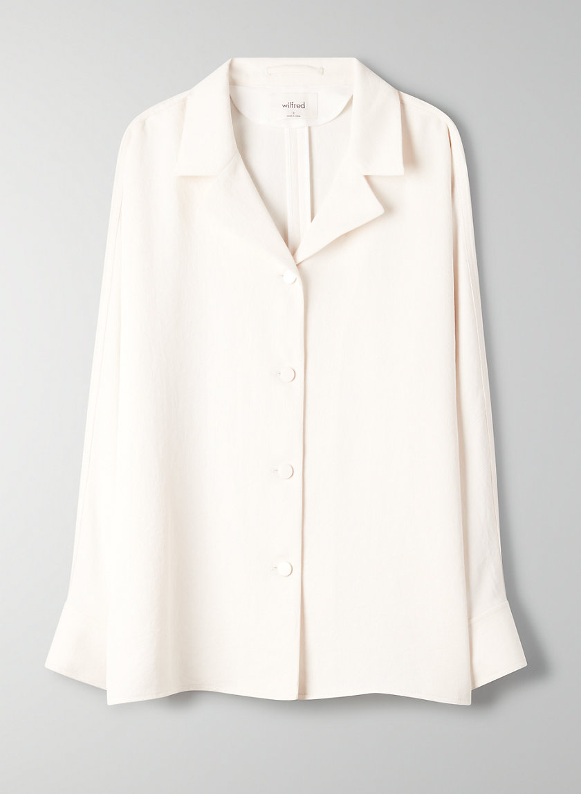 RONDEL JACKET - Oversized, flowy shirt jacket
