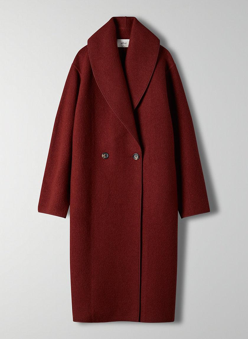 CHARLIZE JACKET - Shawl-collar wool jacket