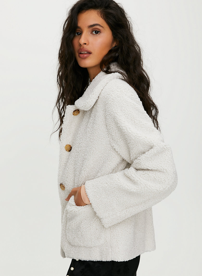 STANZA JACKET - Faux fur jacket