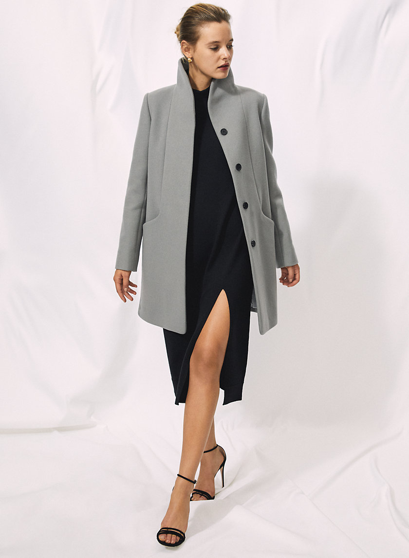 THE COCOON COAT - Virgin-wool and cashmere coat