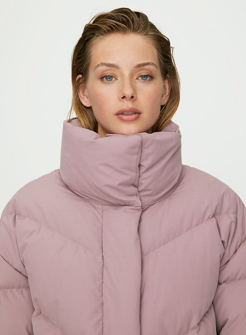 THE CLOUD PUFF - Mock-neck goose-down puffer jacket
