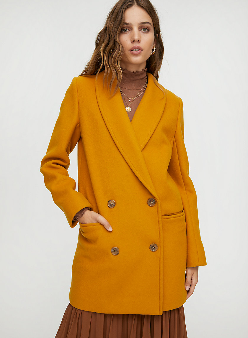 REEVES WOOL COAT - Blazer-style wool coat