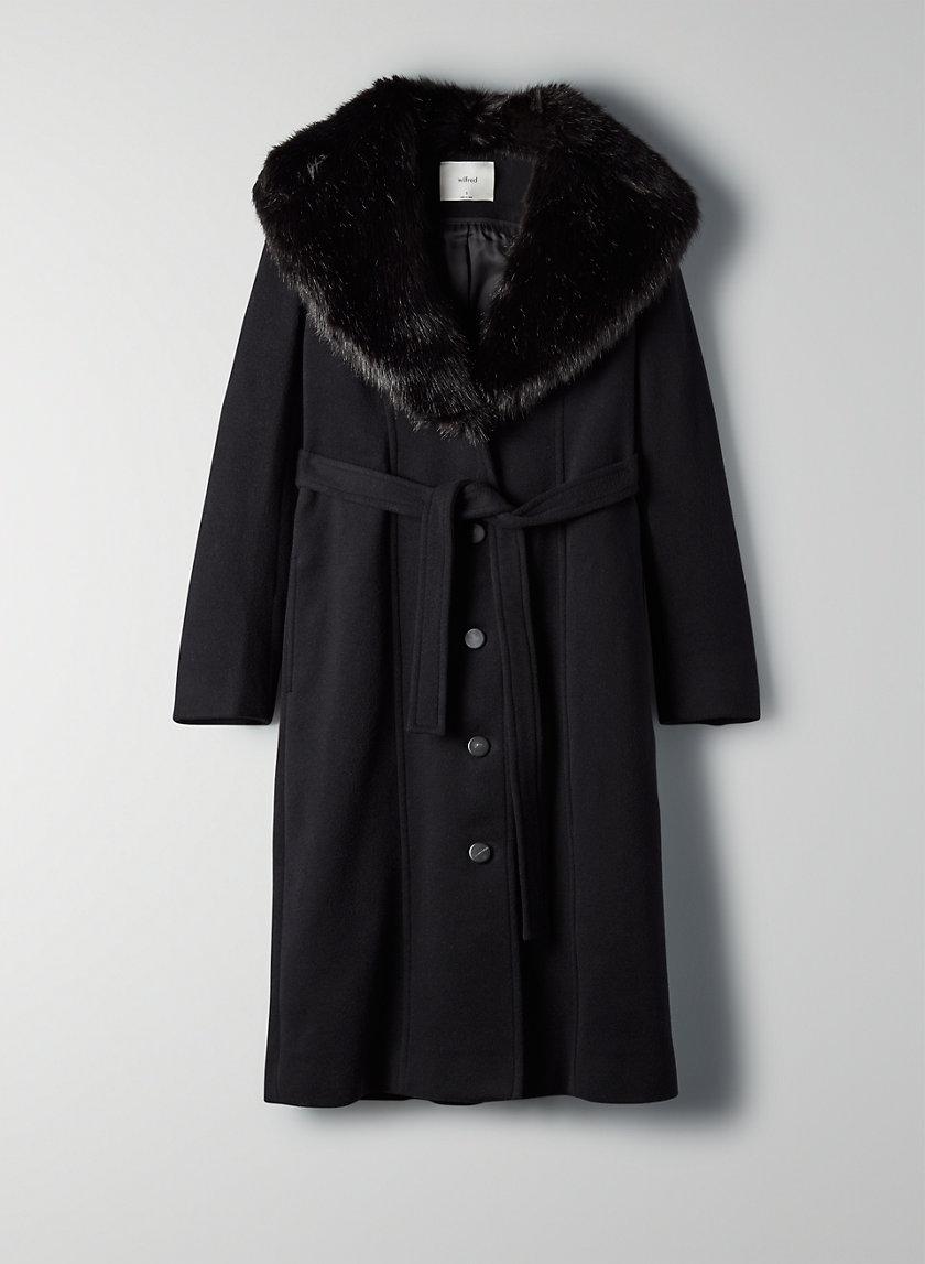 WALDORF WOOL COAT - Feminine wool coat